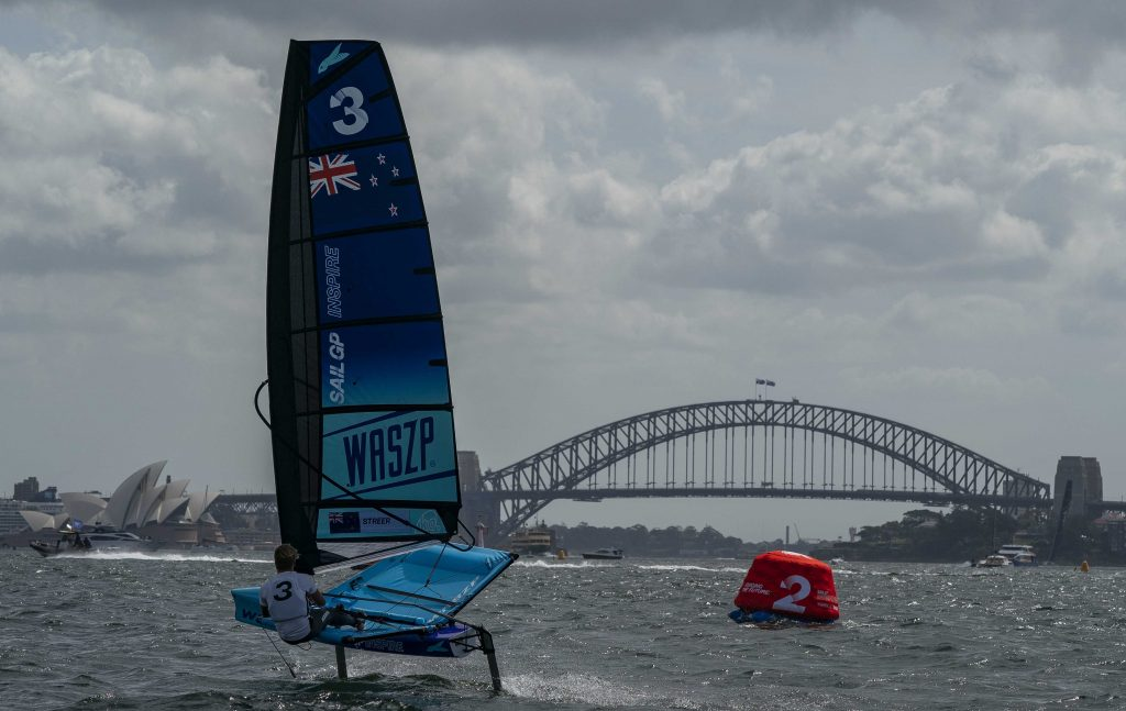 SailGP Inspire en Sydney