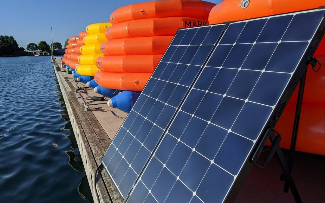 Carga solar MarkSetBot On Shore
