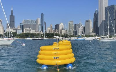 On the Racecourse at Chicago Yacht Club